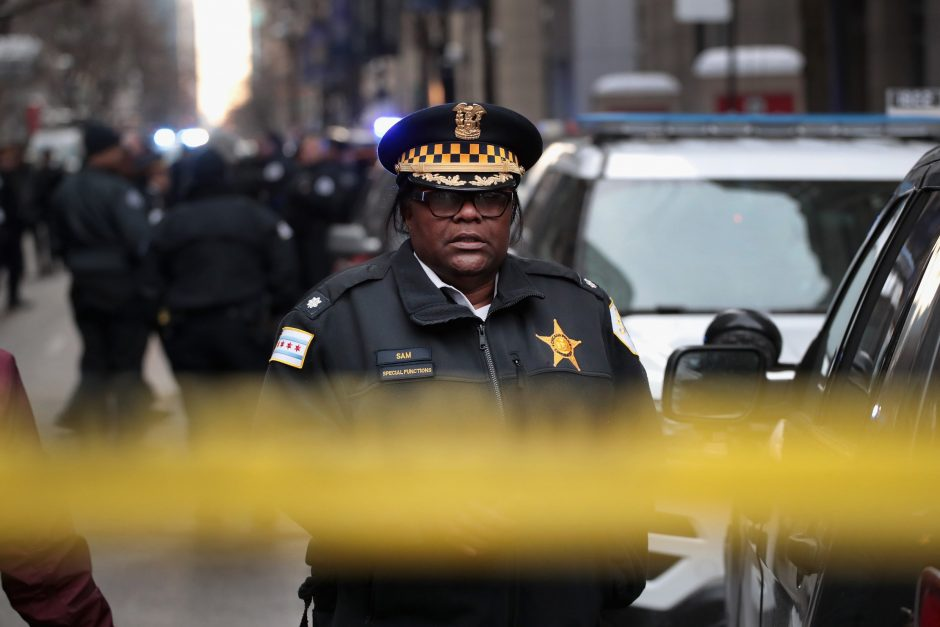 Čikagos vyriausybės pastate nušautas policijos viršininkas