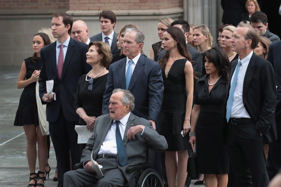 Atsisveikinimas su B. Bush