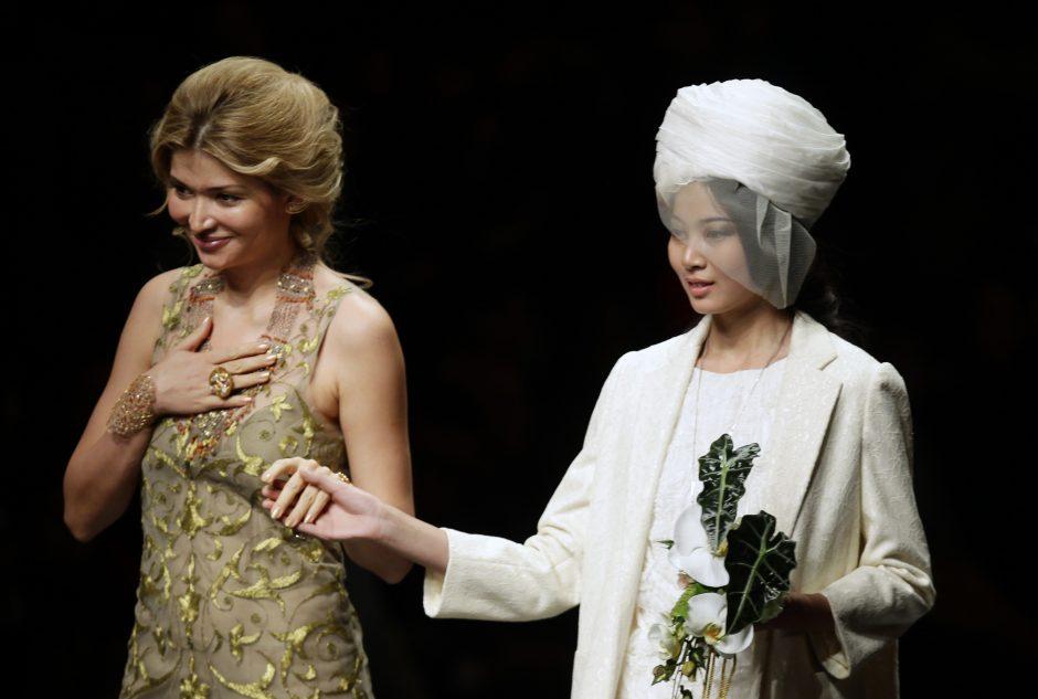 Uzbekijos lyderio dukra dėl galimo pinigų plovimo sudomino prancūzų tyrėjus
