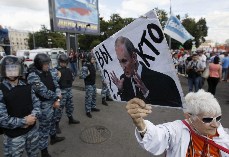 Maskviečiai imigrantams sako