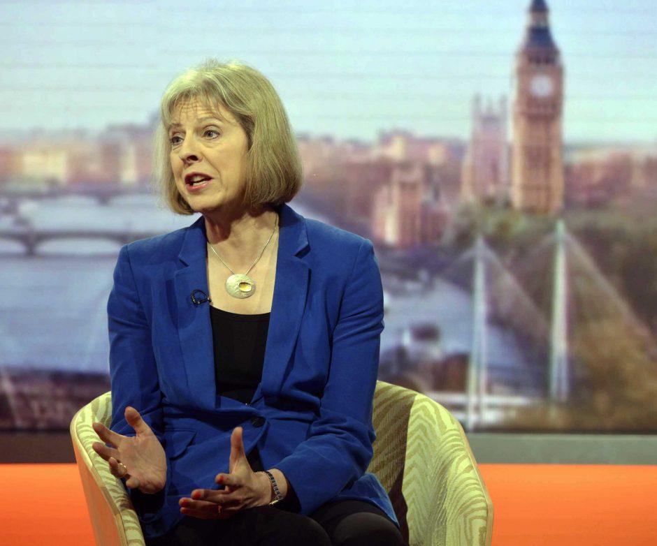 Britų ministrė karališkajame gimdyme nedalyvaus - paprotys nebegalioja