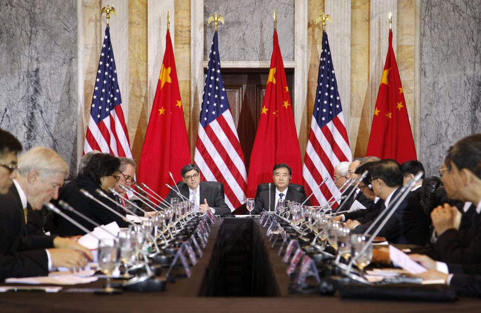Kinijos ir JAV santykiai - santuoka, nors ir ne tarp homoseksualų?