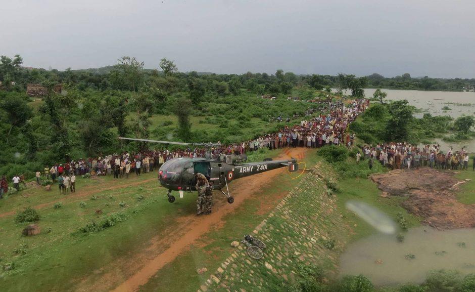 Indijos valdančioji koalicija pritarė naujai valstijai šalies pietuose