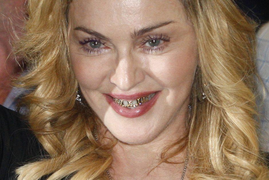 Dainininkė Madonna – daugiausiai uždirbanti garsenybė