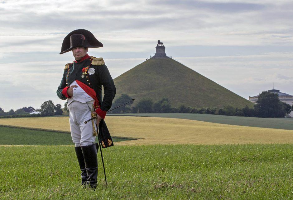 Karta Europa 1815.Po Napoleono Pergalės Vaterlo Musyje Prancuzakalbė Europa Be