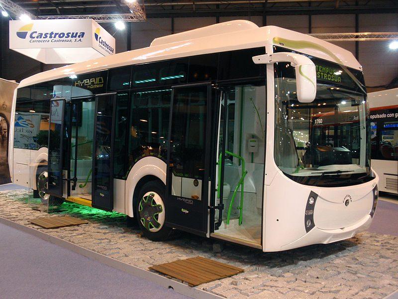 "Lietuvoje važinės ""Castrosua City Versus"" ir ""Castrosua Tempus Hybrid"" autobusai"