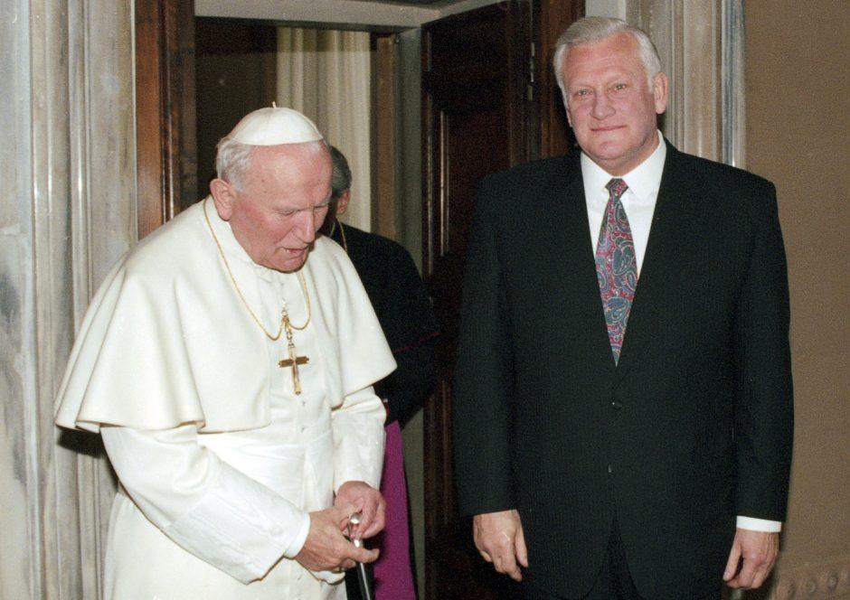 Pirmasis popiežiaus vizitas: Lietuva buvo pasaulio dėmesio centre