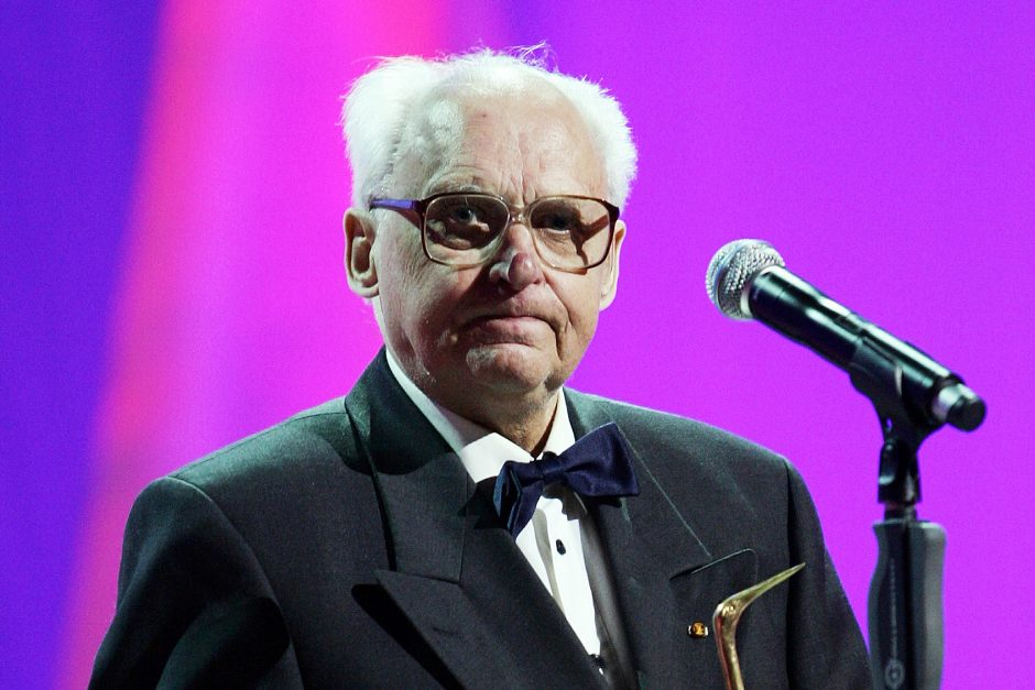 Kino operatoriui J.Griciui bus įteiktas Kultūros ministerijos garbės ženklas
