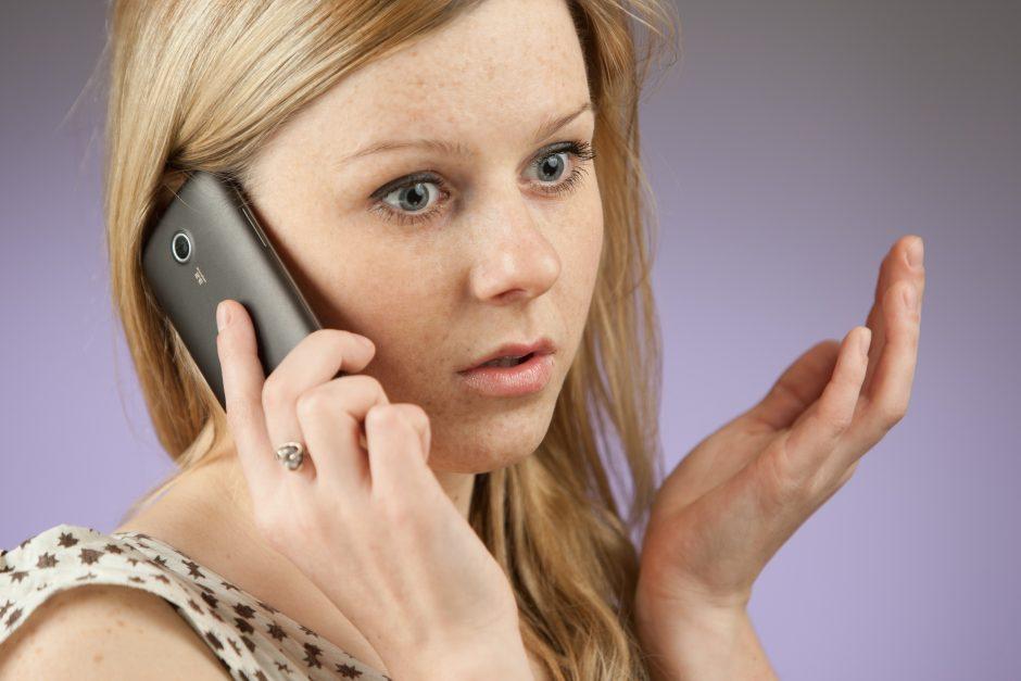 Neatsako į skambučius