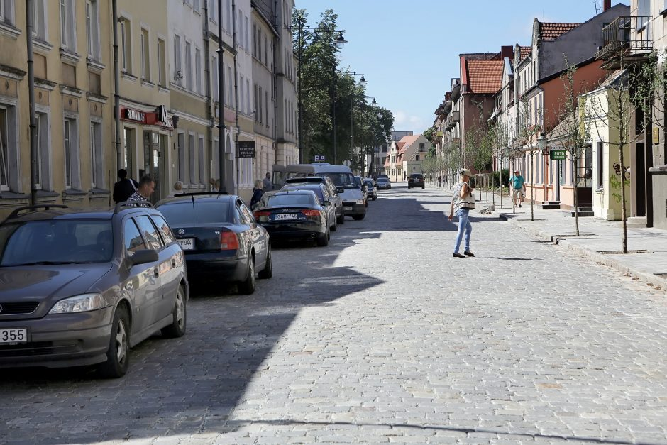 Restauruota Klaipėdos J.Janonio gatvė tarnaus 50 metų