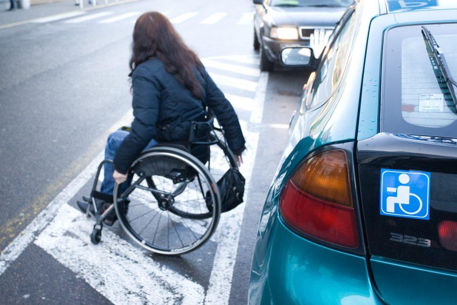 Neįgalūs sostinės mero pažadai neįgaliesiems