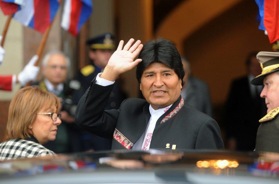 Ispanija atsiprašė Bolivijos dėl prezidento E. Moraleso skrydžio blokavimo