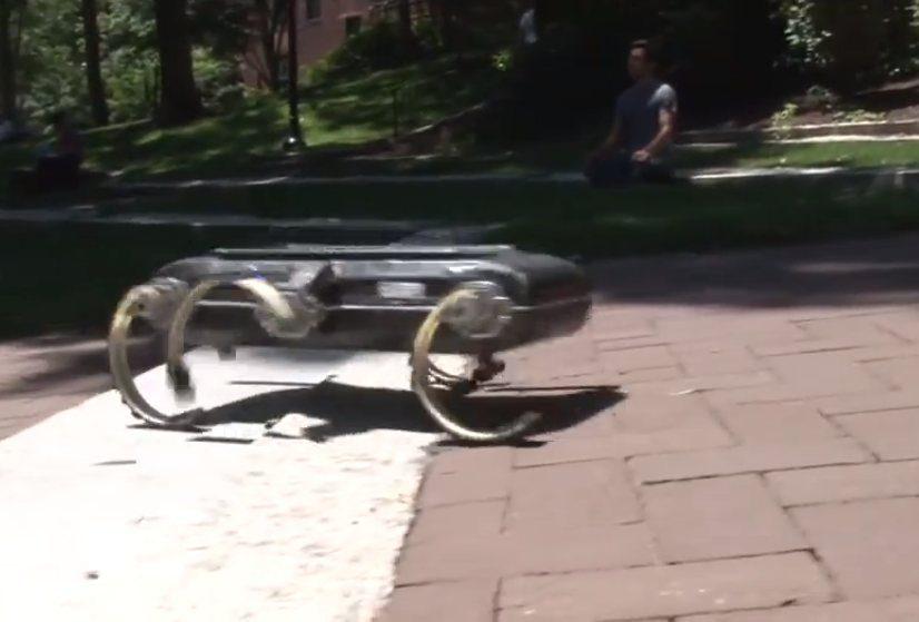 Šešiakojo roboto parkūras