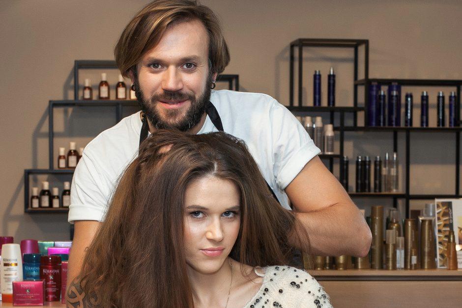 Garsus stilistas V. Gigevič: plaukus stiprinti reikia iš išorės ir iš vidaus