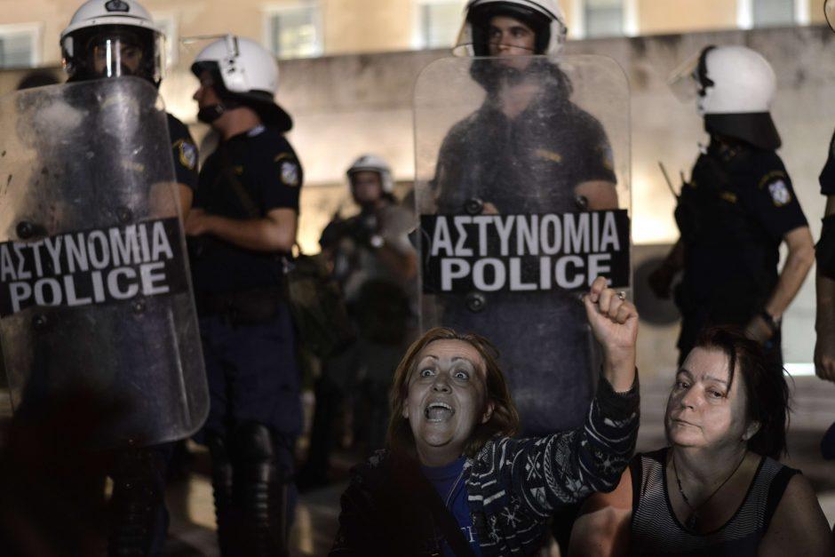 Graikijos sostinėje dėl Vokietijos finansų ministro vizito sutelkta 4 tūkst. policininkų