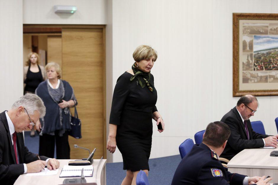 Ekstremalių situacijų komisijos posėdis