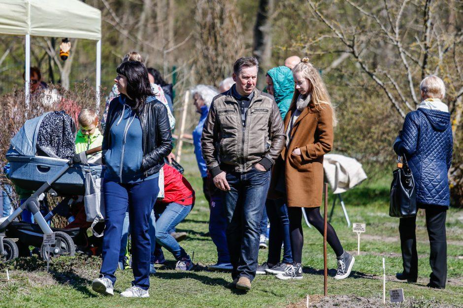 Botanikos sode - Pasaulinė Motinos Žemės diena