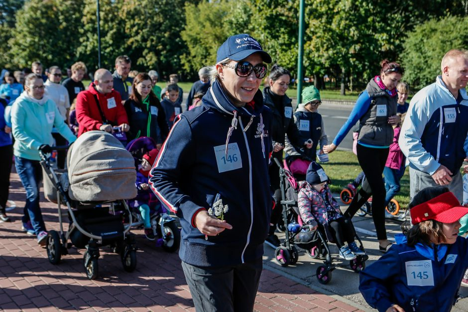 Šeimų šventė pajūryje – saulėta, sportiška ir rekordinė