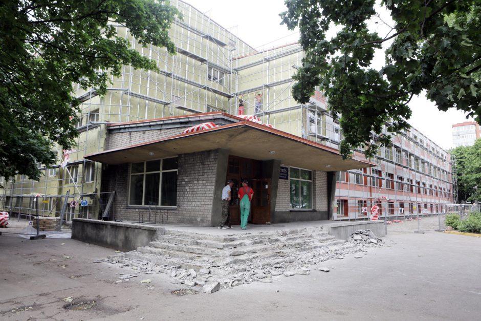 Uostamiesčio mokyklų remontas tęsis ir rugsėjį