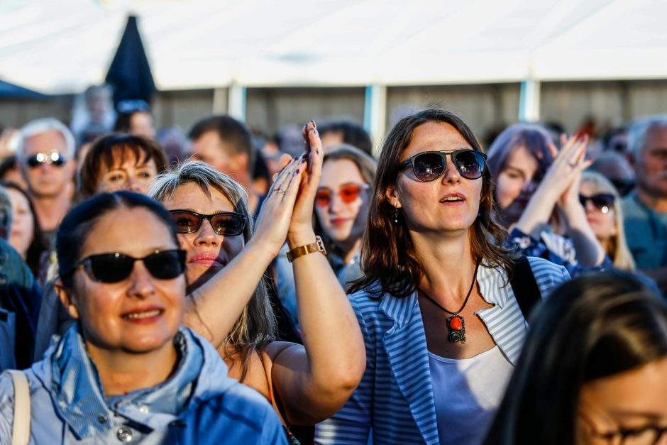Klaipėdos pilies džiazo festivalis įsibėgėjo