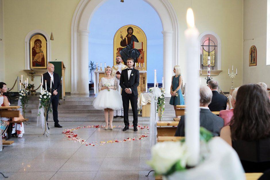 Klaipėdoje aukso žiedus su mylimuoju sumainė džiazo atlikėja K. Jatautaitė