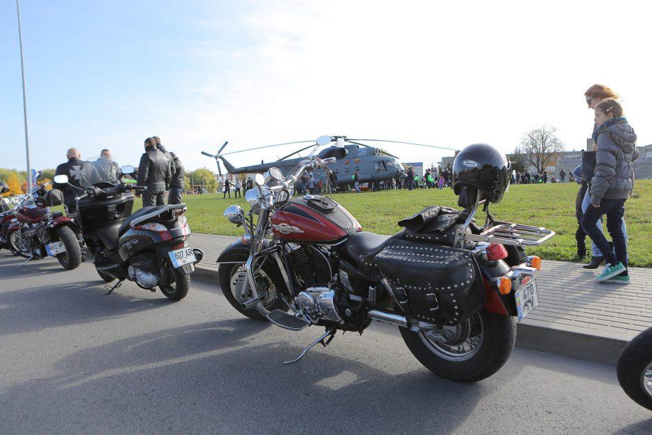 Donorystės dieną Klaipėdoje nutūpė sraigtasparniai