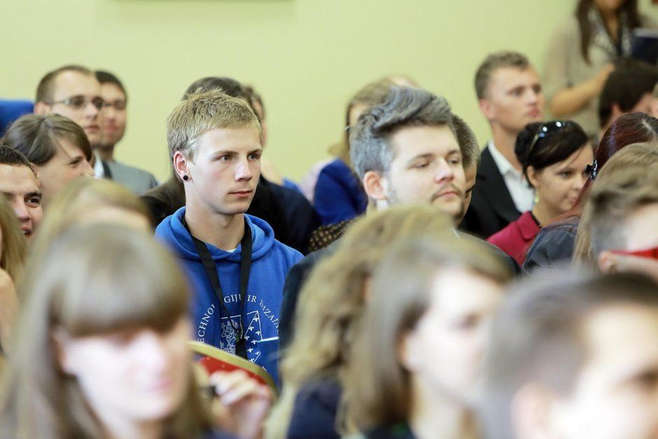 Studentai tiesė tiltą į kokybiškas studijas