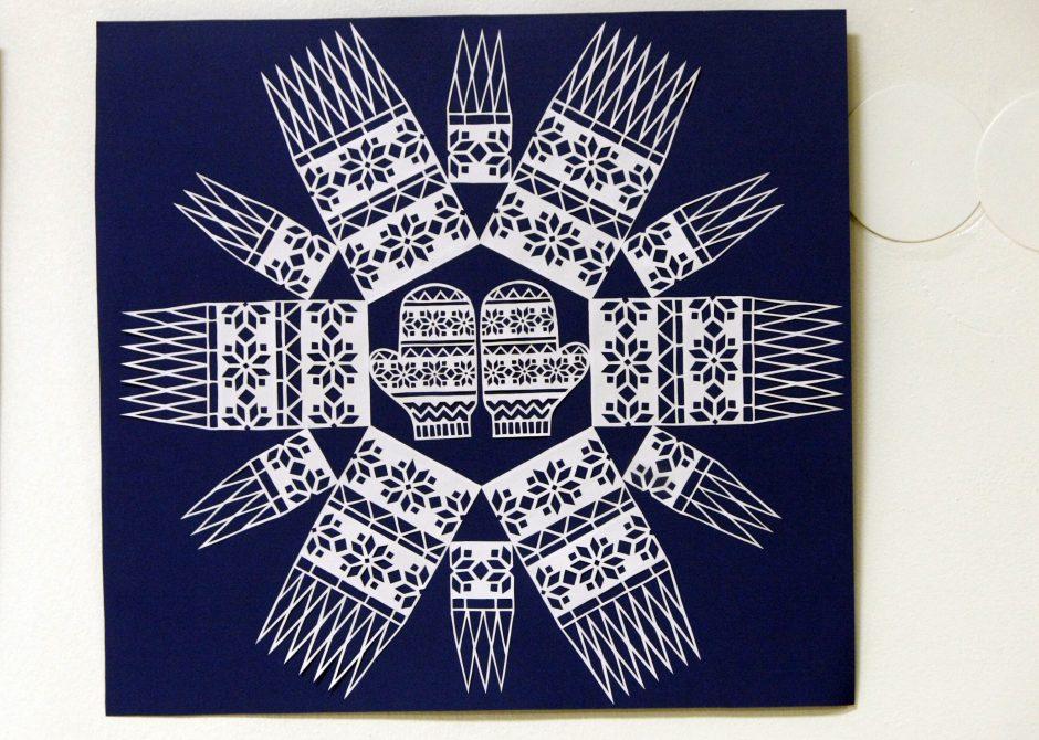 Kristinos Mažukaitienės snaigių paroda