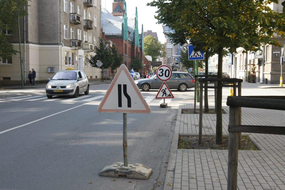 Startavo Liepų gatvės dalies remontas