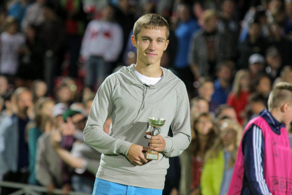 Lietuvos futbolo talentas karjerą pradės svetur