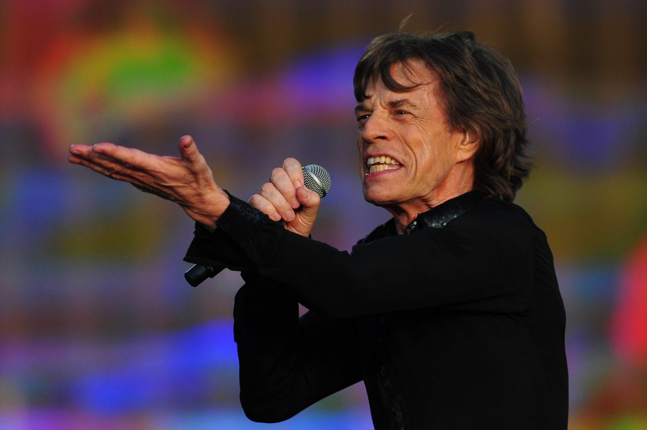 M. Jaggeriui sukanka 70  metų