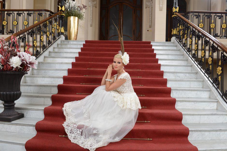R. Mikelkevičiūtė rado suknelę savo vestuvėms