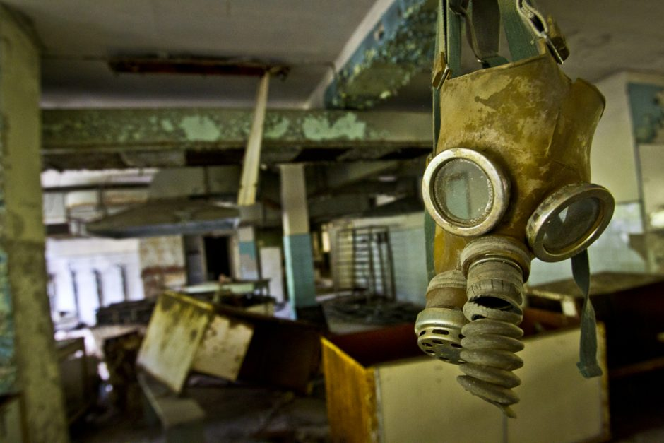 Kelionė į mirusį Černobylio miestą