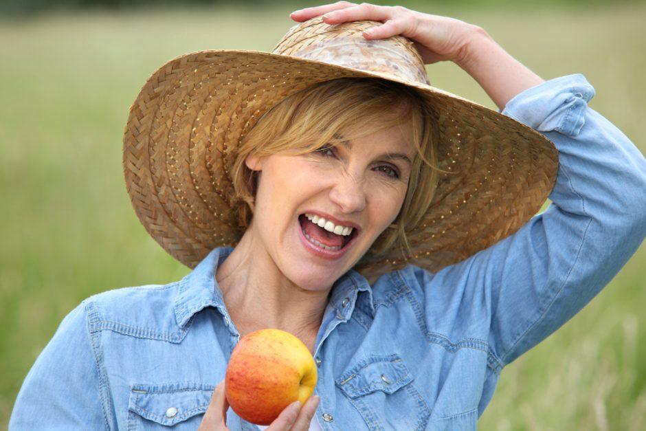 Natūralus būdas sustiprinti kaulus - obuoliai
