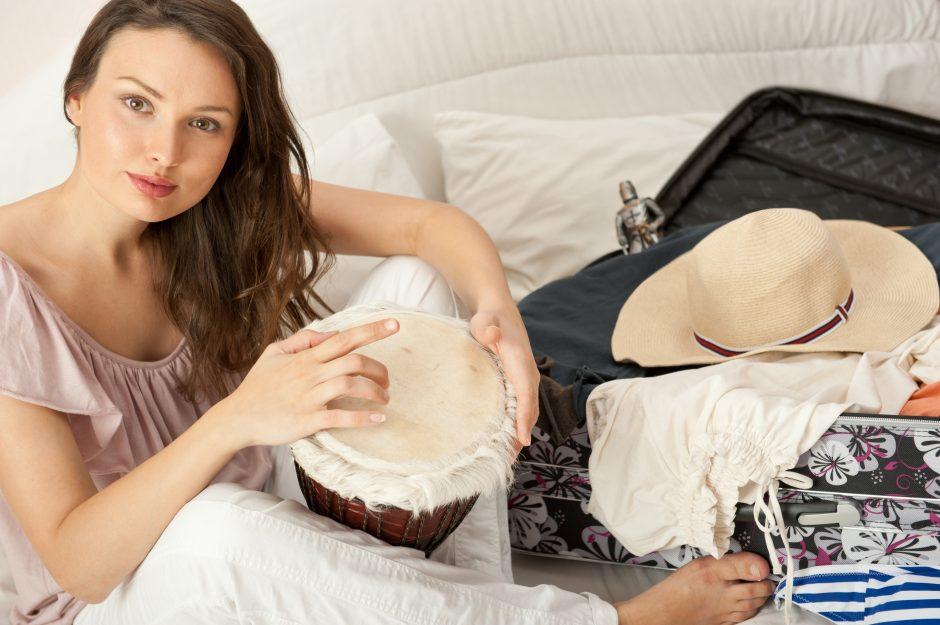 Būgnai padeda įveikti stresą ir įtampą