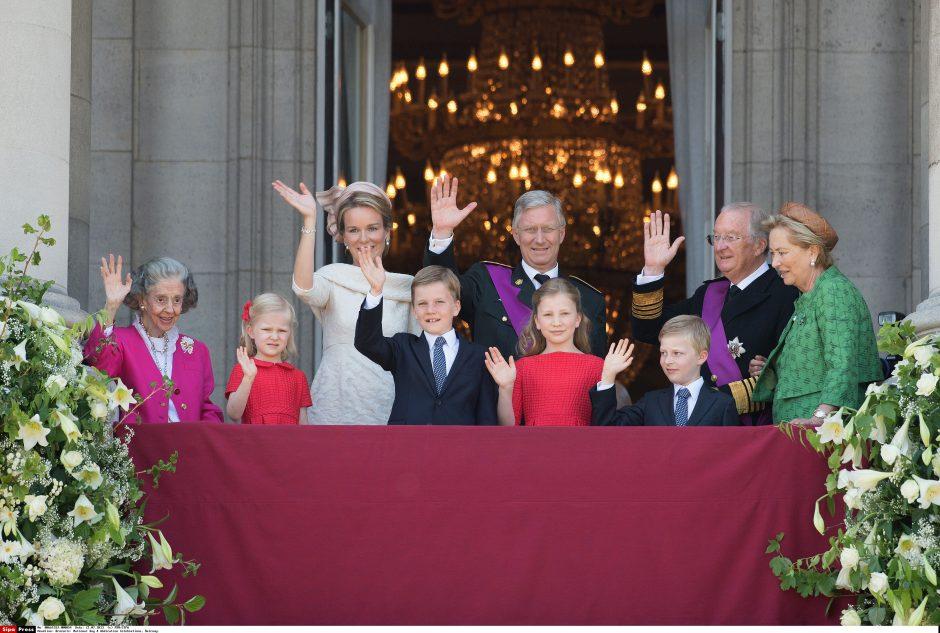 Naujojo Belgijos karaliaus vaidmuo: išlaikyti šalį nesubyrėjusią