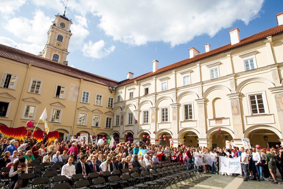 Reitingų pirmūnai – Vilniaus universitetas ir Vilniaus kolegija