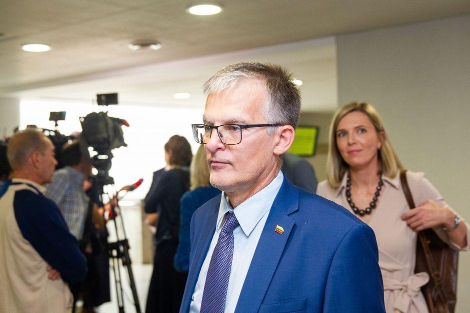S. Skvernelis apie naują Seimo sesiją: nebus paprasta ir lengva