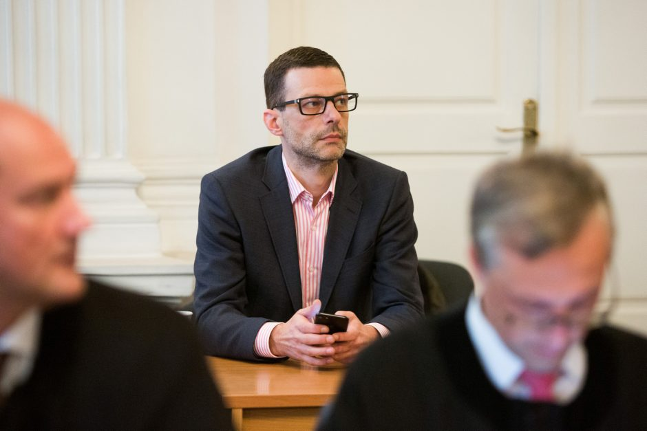 """""""MG Baltic"""" byla: buvęs Seimo narys Š. Gustainis nebeišgali samdytis advokato"""