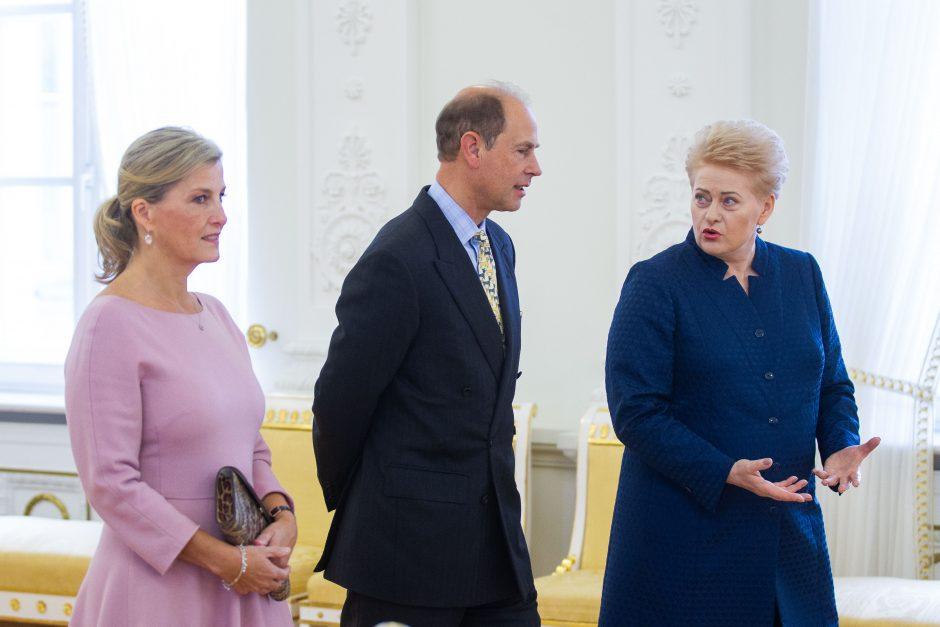 Lietuvoje – britų karališkieji svečiai