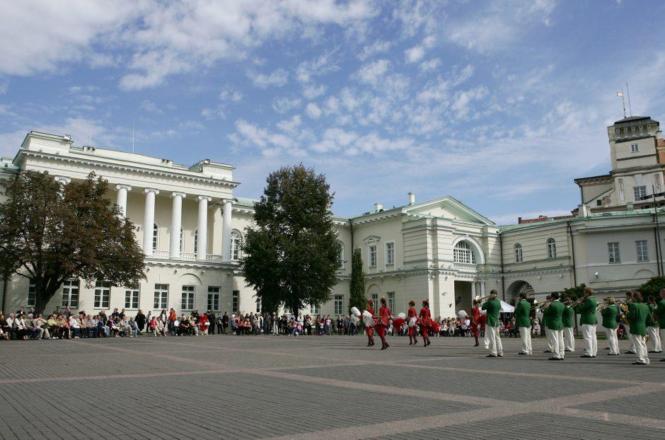 Prezidentūros rūmų kieme skambės džiazas
