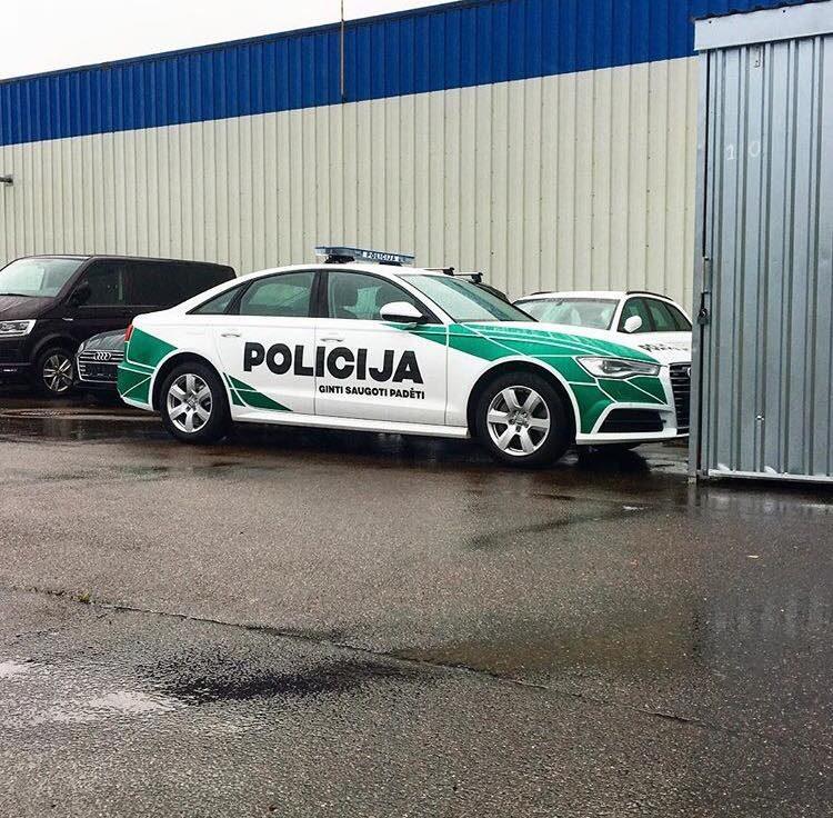 Įvertinkite: naujieji policijos automobiliai atrodo išties įspūdingai