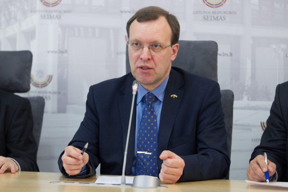 N. Puteikis žada rengti interpeliaciją švietimo ministrei