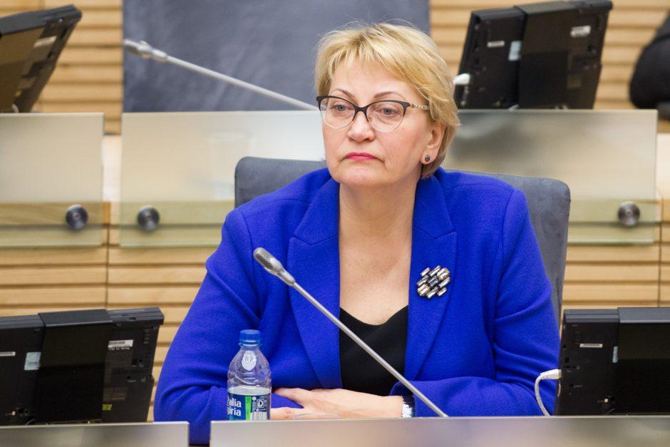 R. Budbergytė: su korupcija kovojama formaliai, ir tai – premjero atsakomybė