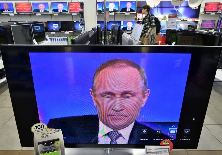 Lietuvoje pradedama retransliuoti televizijos programa rusų kalba