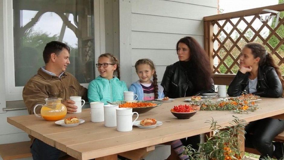 Šaltalankių ūkį prie Kauno pora pasodino savo vestuvių dieną