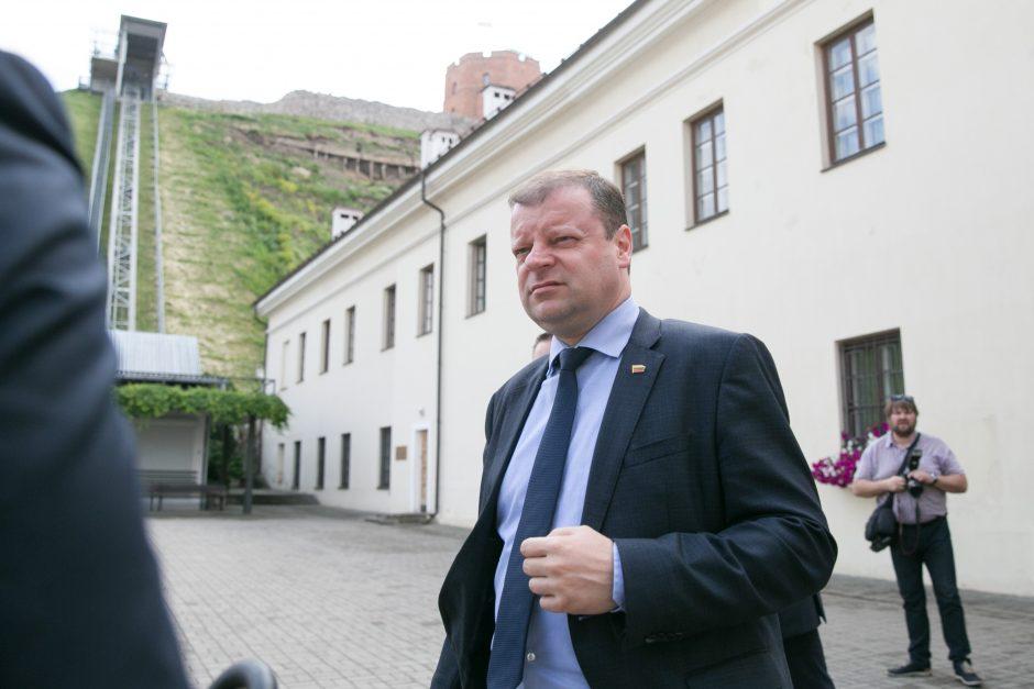 Vyriausybės kanceliarija moka už tuščią premjero rezidenciją