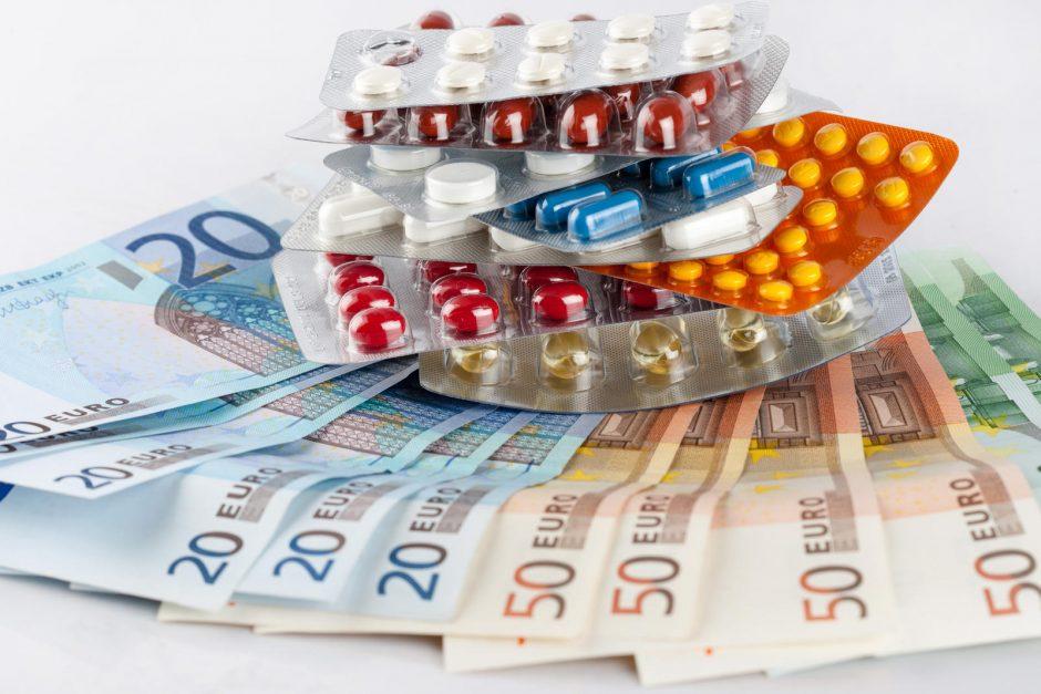 Ministerija pristatys, kaip toliau planuojama mažinti vaistų kainas