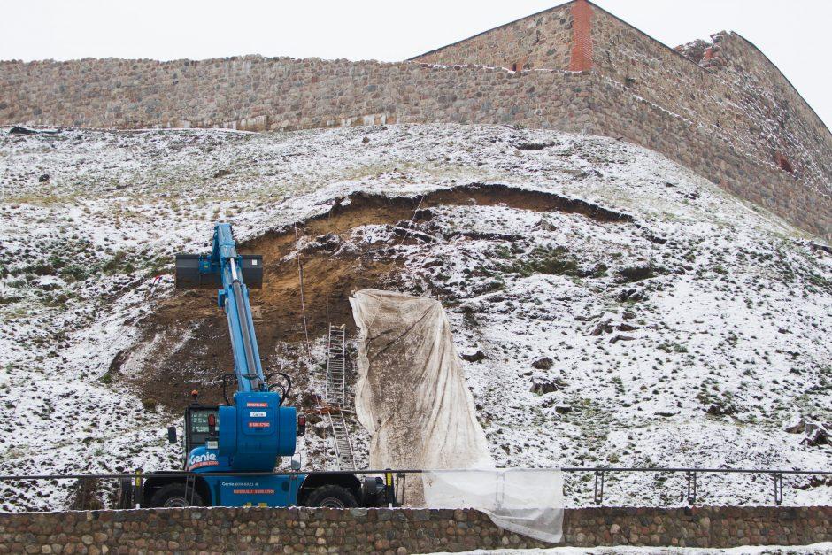 Gedimino kalno tvarkymo darbai užtruks porą metų