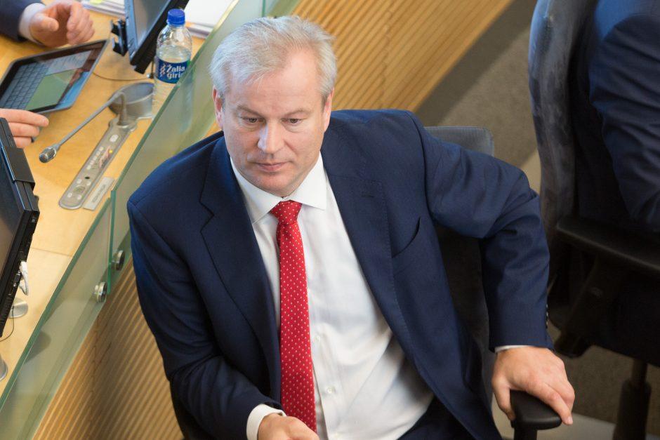M. Bastys atsisakė teikti paaiškinimus apkaltos komisijai